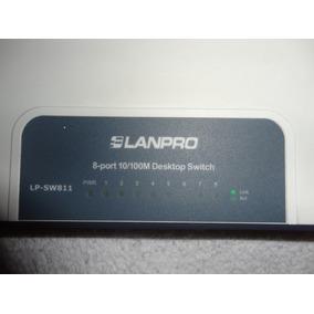 Switch 8 Puertos 10/100m Lanpro