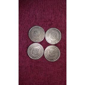 4 Moedas 100 Réis 1918, 1920, 1925 E 1926