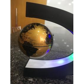 Globo Flutuante Terrestre Magnetico Giratorio Anti Gravidade