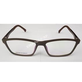796d14d11784c Oculos Armani Feminino Marrom De Grau - Óculos no Mercado Livre Brasil