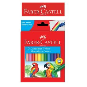 Canetinha Hidrocor 12 Cores Faber-castell - Oferta!