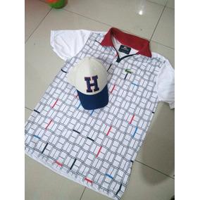 cf294fc012202 Bone Lacoste Lacinho - Camisetas e Blusas no Mercado Livre Brasil