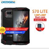 Doogee S70 Lite Original 8core 4gb+64gb Red 4g Telcel,movi