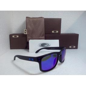 Óculos Oakley Holbrook Lente Azul Original Usa De Sol - Óculos no ... e149ae6d69
