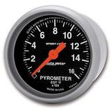 Auto Meter 3344sport-comp Eléctrico Pyrometer Gauge Kit