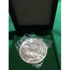 Medalha Palmeiras Centenario Original Casa Da Moeda