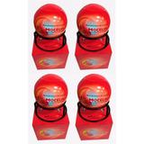 4 Bola Extintor Automático 1,3kg Abc Com Suporte Mocelin Nfe