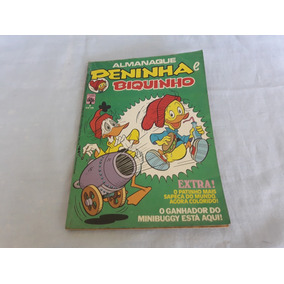 Gibi Almanaque Peninha E Biquinho Nº 02 - Julho 1982