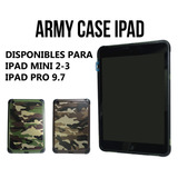 Case Para Tu Ipad Army Case