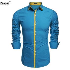 d86dbf417fa86 Camisas Liki Blu - Camisetas de Hombre en Mercado Libre Colombia