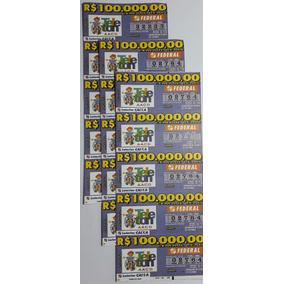 Bilhete Da Loteria Federal Ano 2001 : Teleton - Aacd
