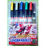 Gundam Marker Set X 6 Metal Gsi Creos Anime Action Argentina