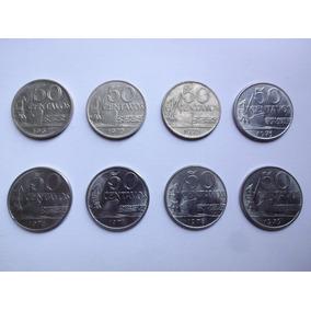 Moedas 50 Centavos 1967 - 1979 (lote Completo)