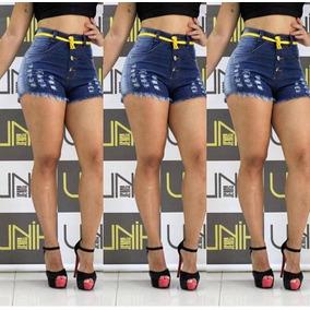 Short Shortiho Jeans Sarja Feminino Verão