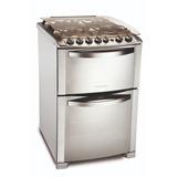 Cocina Electrolux Gas 56 Cm Doble Horno 56dtx