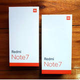 Redmi Note 7 4gb/64gb Global +películas(tela/câmera)+2 Cases