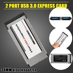 2 Port Usb 3.0 To Express Card Expresscard 34mm/54mm Adapter