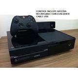 Xbox One 500gb Kinect Control Bateria Recargable *no Cambios