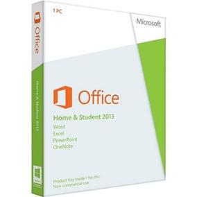 Office Home And Student 2013 Cartão De Ativação 79g-03550