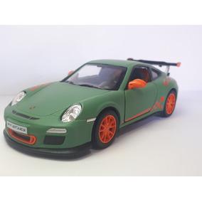Miniatura Metal Porsche 2010 Gt3 911 Kinsmart Brinquedo 1.36