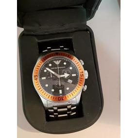 c584df13673 Relogio Laranja Emporio Armani Masculino - Relógio Masculino no ...