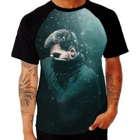e9cf3479d3 Camisa Camiseta Lionel Messi Manga Curta Raglan