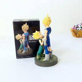Dragon Ball - Vegeta Majin E Trunks Na Caixa - Frete Grátis