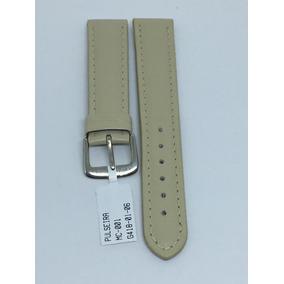 374d9c2a550 Pulseira Couro Relogio Marrom Marfim Mc 001 Mm (12 A 20mm)