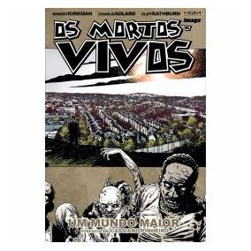 Os Mortos Vivos The Walking Dead 1 A 18 Completo Hqm Editora