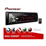 Auto Estereo Pioneer Mvh-x585bt Bluetooth Usb Multicolor