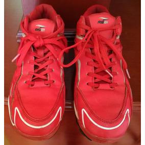 Zapatos De Beisbol Hombre Rs21 Talla 38 Color Rojo 037e6723d068b