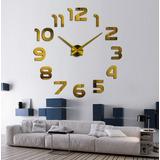 Reloj Pared Grande Moderno Para Hogar U Oficina 3d Regalo