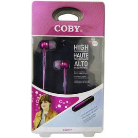 Fone Ouvido Para Celular Earphone Isolamento Acústico Coby