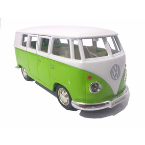 Miniatura Kombi Verde Coleção