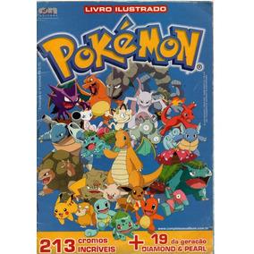 Album Pokémon Completo Com 213 Cromos Incríveis /2008