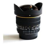 Lente Fisheye Ojo De Pez Esferico 6.5mm F3.5 Pr Nikon
