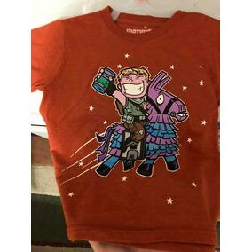 Camiseta De Fortnite Para Niño Talla 6-7 Auténtica Original