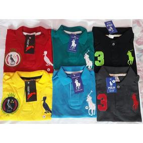 Kit Camisa Polo Infantil Menino - Pólos Manga Curta para Meninos no ... 4853b3613fa39
