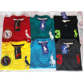 Kit Camisa Polo Infantil Menino - Pólos Manga Curta para Meninos no ... 031356afd3058
