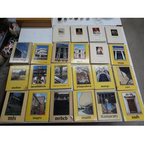 Coleção De 22 Livros Banco Safra Museus Brasileiros