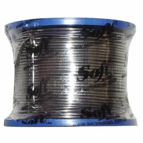 Carretel De Solda Soft 60x40 1mm 200g Estanho Rolo