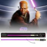 Sable Mace Windu Force Fx Star Wars Lightsaber Black Series