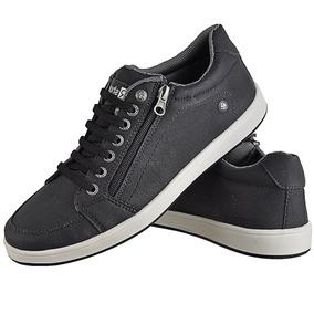 Sapato Masculino Casual Sola Reta Couro Ecológico Oferta