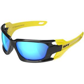 Oculos Sol Espelhado Spy Hammer 67 Solar Cores Preto Amarelo 6ebfde6383