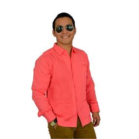 Camisa Guayabera Yucateca Presidencial Lino _cfkkkprsml