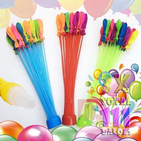 111 Bexigas Balão Enchedor De Água Balloons Festas De Bunch