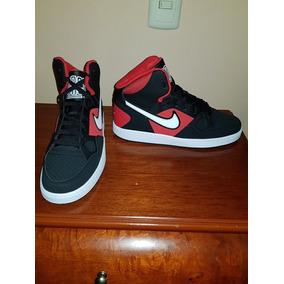 the best attitude 3c1e0 00b12 Tenis Nike Son Of Force, Negro  Rojo, Talla 7 Mx, Nuevos.