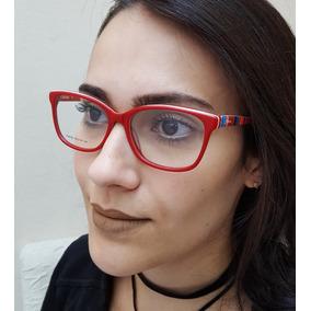 e02a99cf0f55d Armação De Óculos De Grau Feminino Acetato Colorido Bless