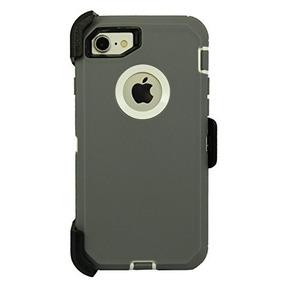 4d21cff42d9 Estuche Protector De Uso Rudo Iphone 7/iphone 8, Gris/blanco
