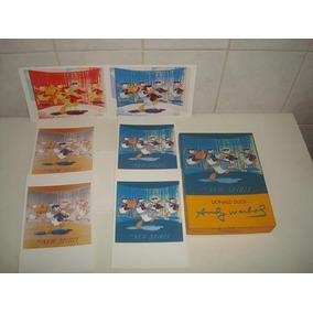Kit 6 Cartões C/ Envelopes Do Pato Donald - Na Caixa